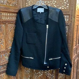 Black with leather Iro size M/L!